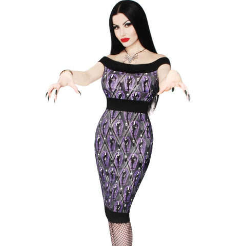 Vampira Arghoul Pencil Dress