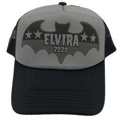 Elvira President Bat 2020 Grey Trucker Hat
