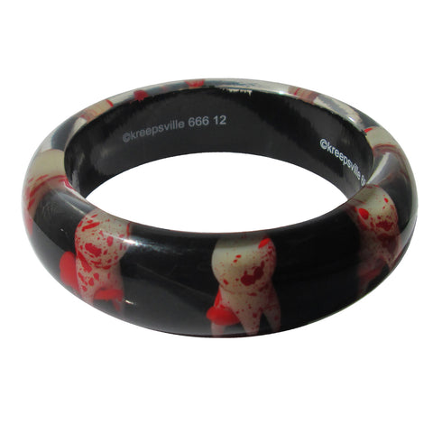 Breaking Teeth Bangle