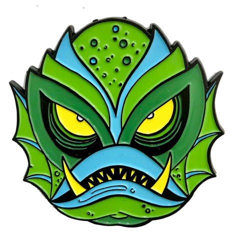 Graves Monster Creature Enamel Pin