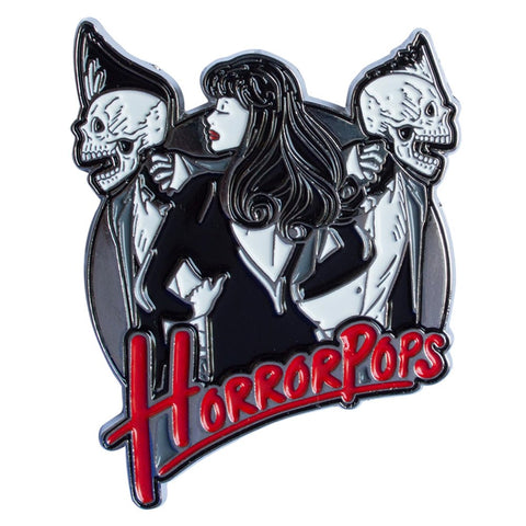 Horrorpops Casablanca Enamel Pin