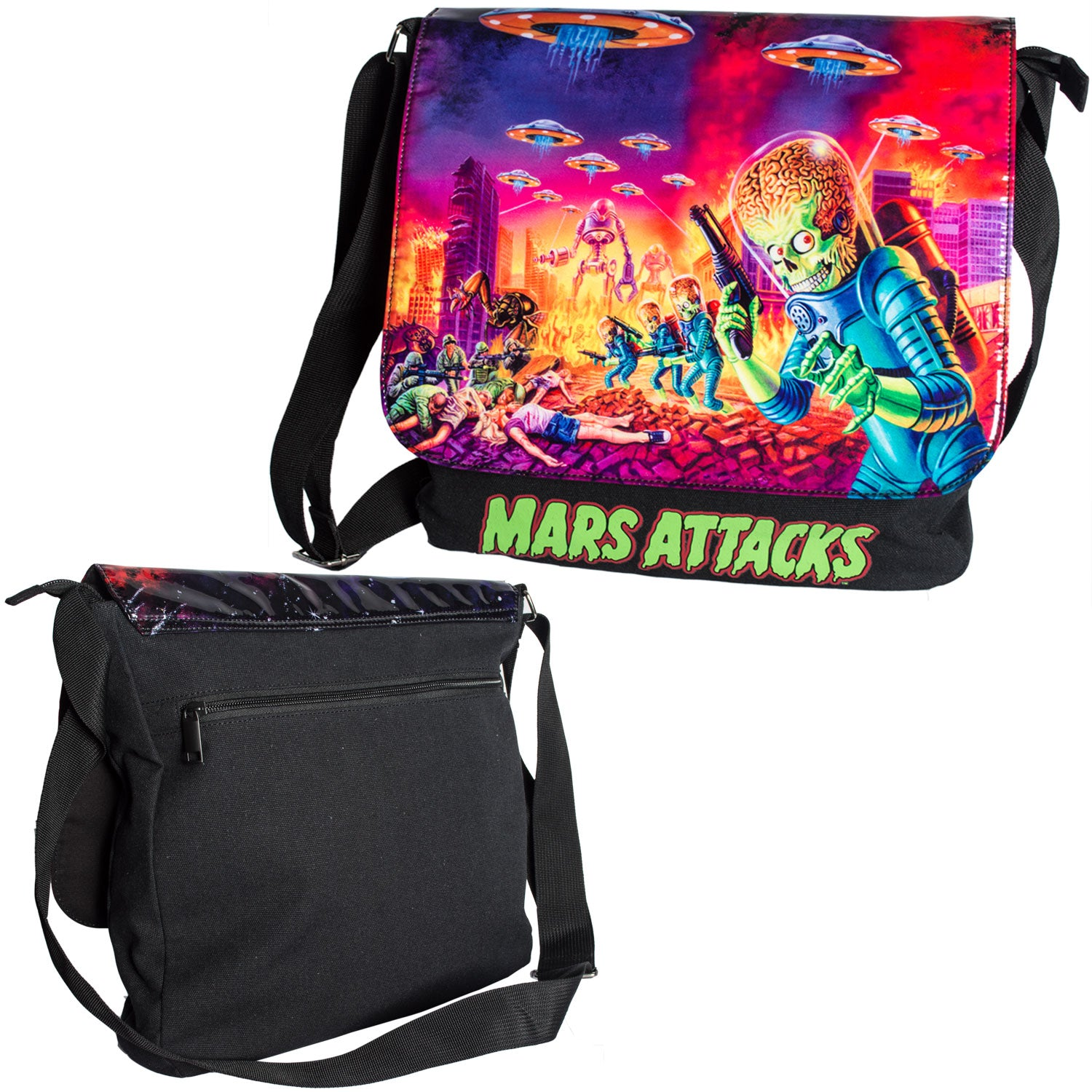 Mars Attacks Mini Messenger Bag