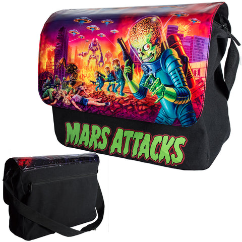 Mars Attacks Mega Messenger Bag