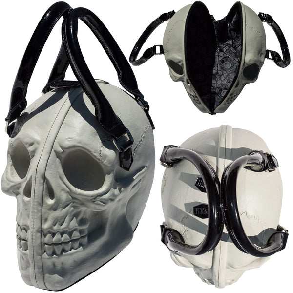 Skull Collection Handbag Natural Glow
