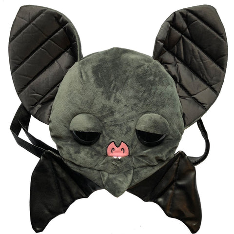 Sugarfueled Bat Black Plush Bag