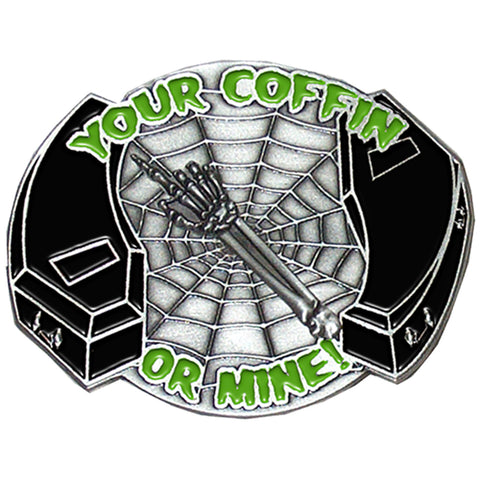 Your Coffin Belt Buckle