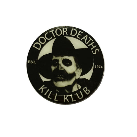 Vincent Price Dr Death Pin