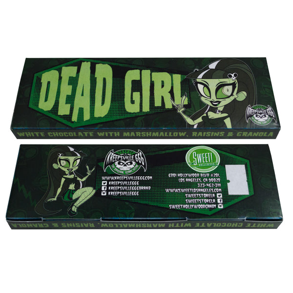 Kreepsville 666 Dead Girl Chocolate Bar