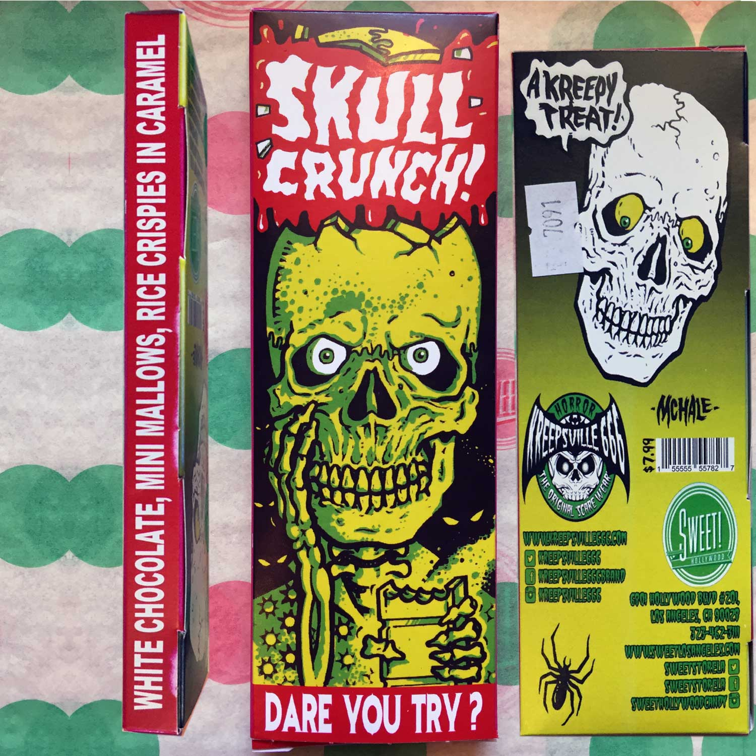 Chocolate Bar Skull Crunch by Count Porl