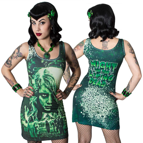 Night of The Living Dead Tank Dress