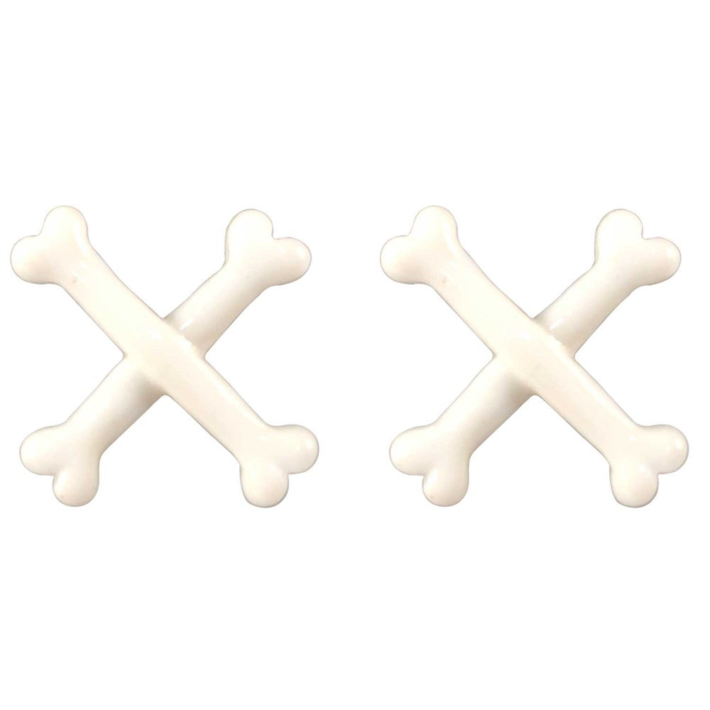 Cross Bone Stud Earring