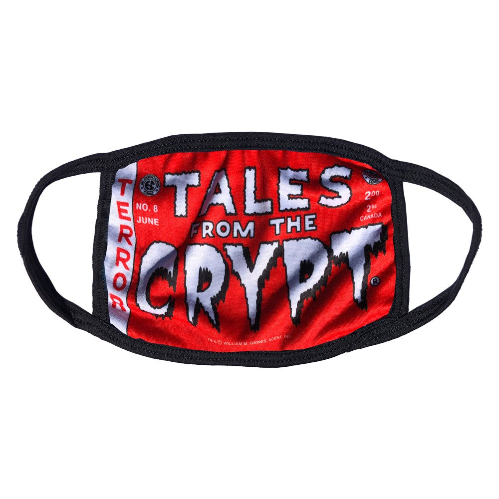 Tales From The Crypt Red Logo Face Mask
