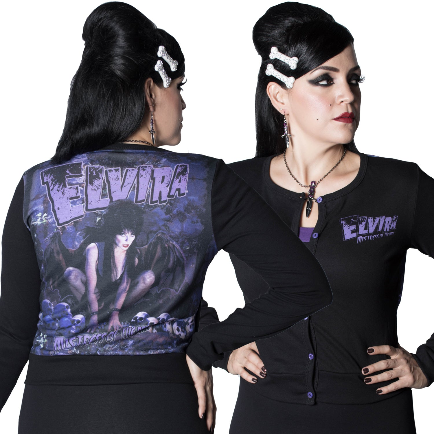 Elvira Demon Wing Cardigan