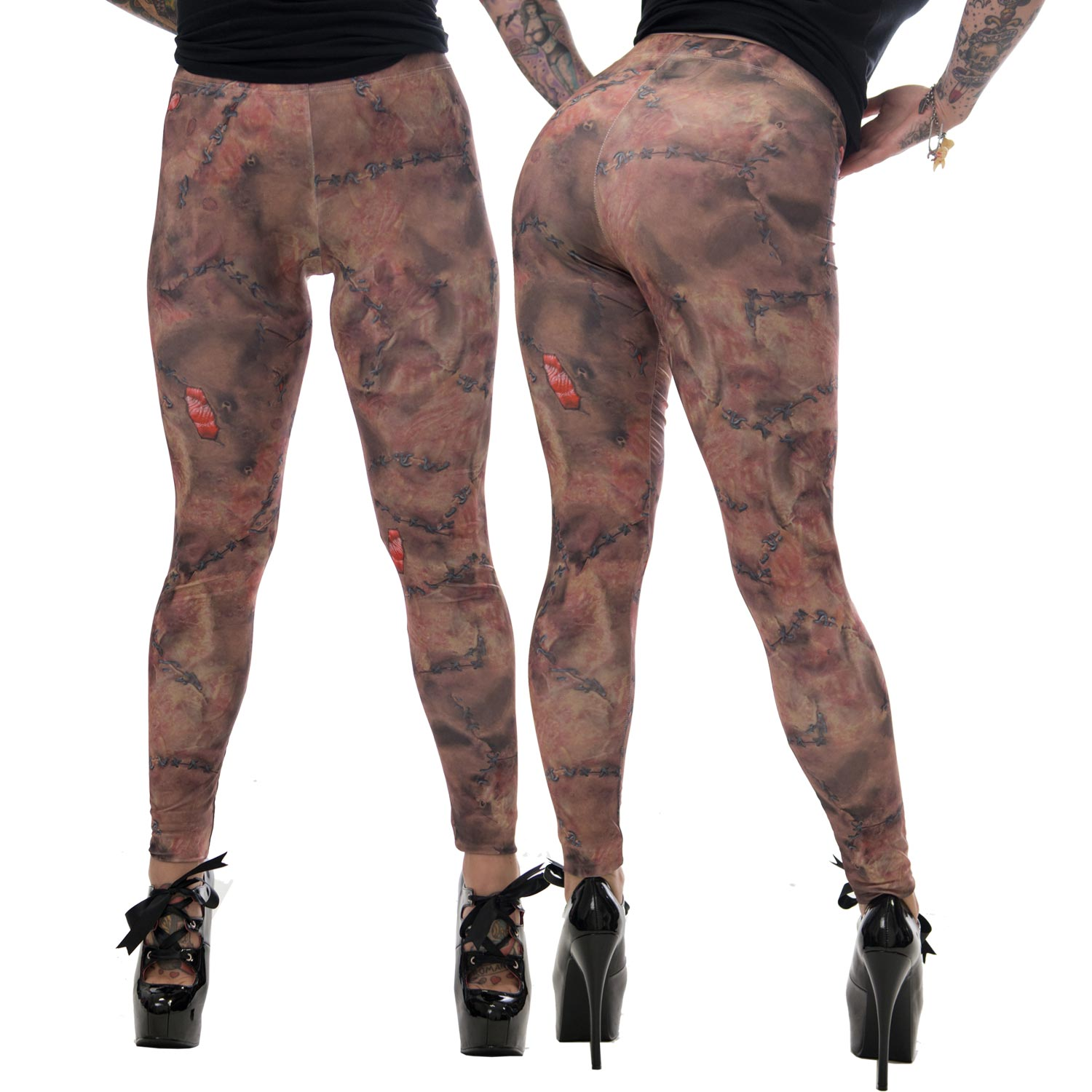 Stitched Skin Leggings