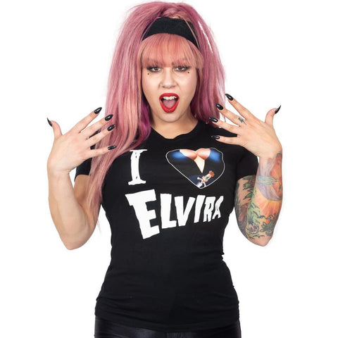 Elvira I Heart Womens Tee