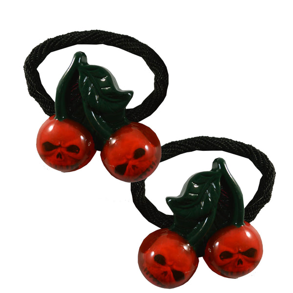 Cherry Skull Hair Bands