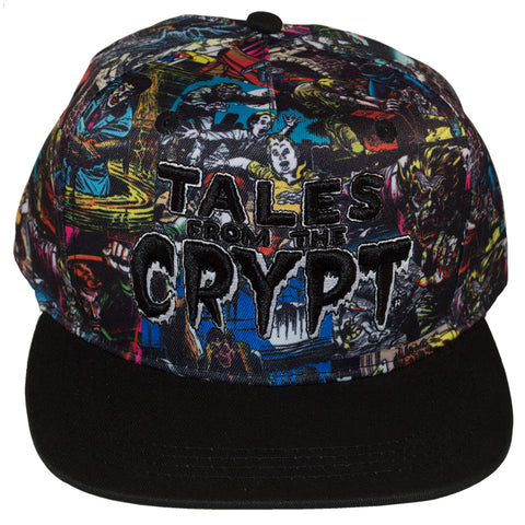 Tales From The Crypt Covers Baseball Hat