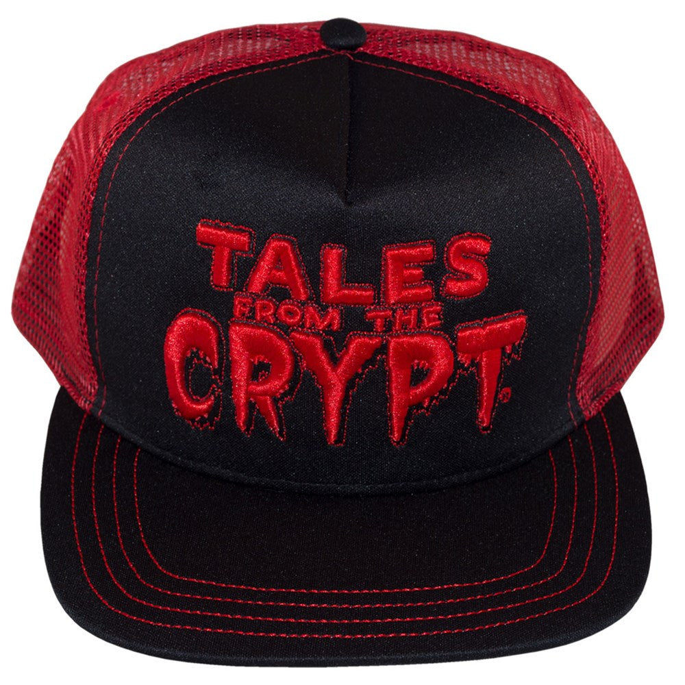 Tales From The Crypt Red Trucker Hat