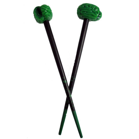 Zombie Brains Hair Sticks