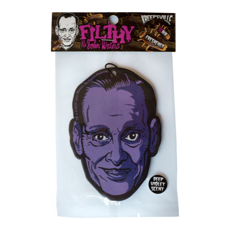 John Waters Deep Violet Air Freshener