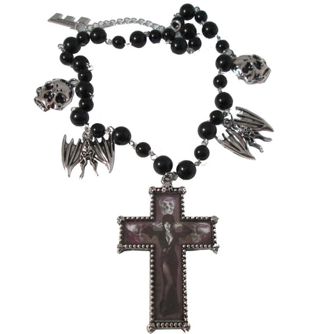 Elvira Rosary Necklace