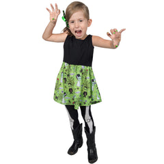 Kreepsville Frankenkuties Toddler Dress