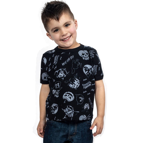 Spookshow Grey Toddler T-shirt