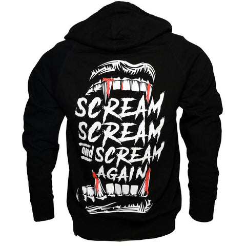 Scream, Scream And Scream Hoody