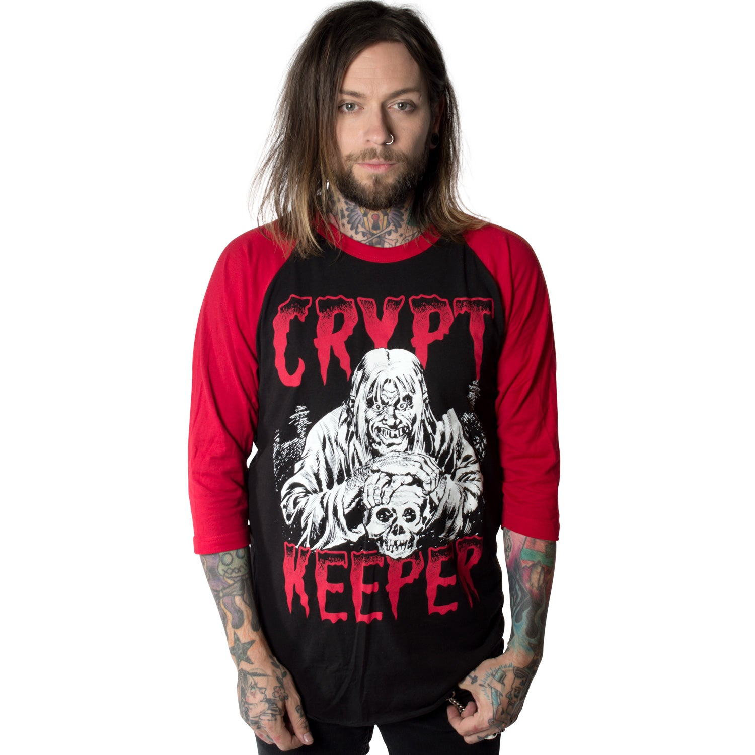 Tales From The Crypt Crypt Keeper Longsleeve Tee