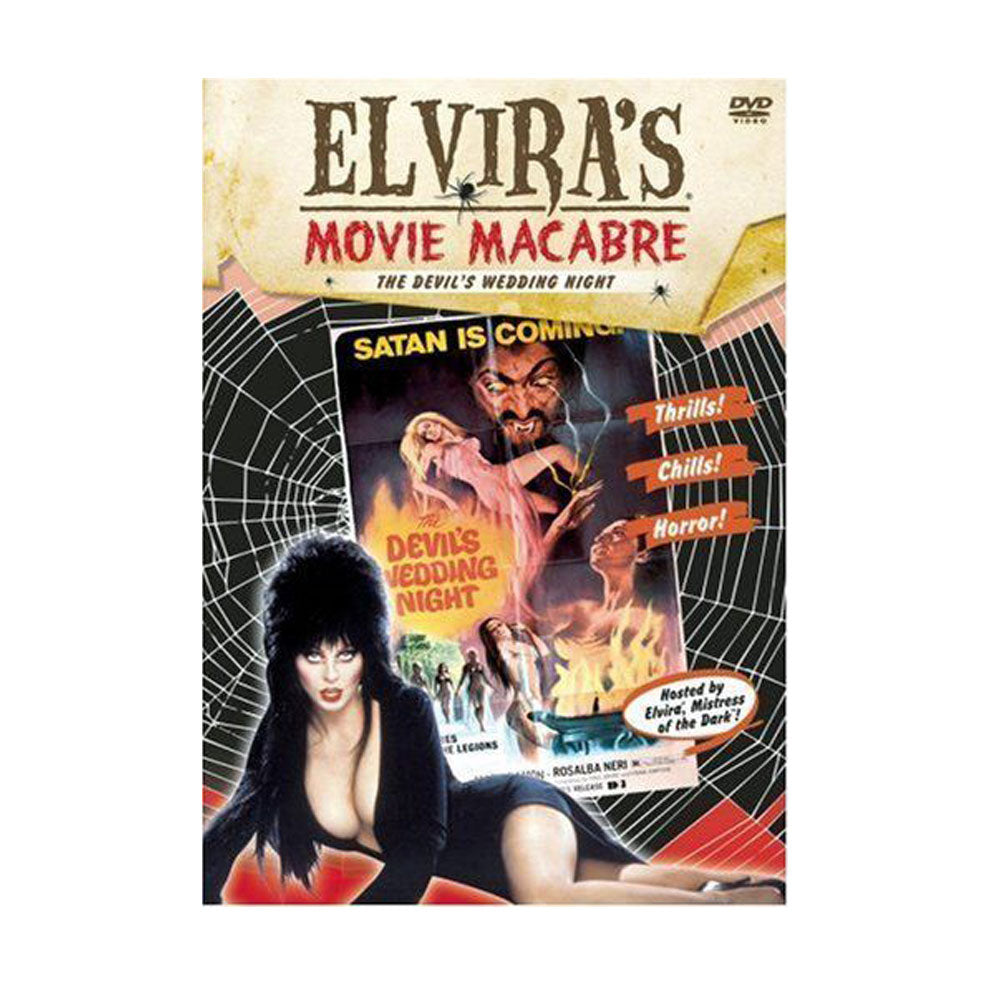 Elvira Movie Macabre-Devils Wedding Night DVD