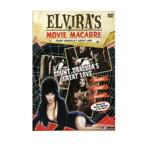 Elvira's Movie Macabre-Count Dracula's Great Love DVD