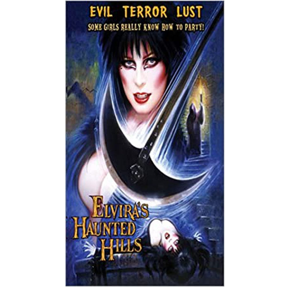 Elvira Haunted Hils VHS