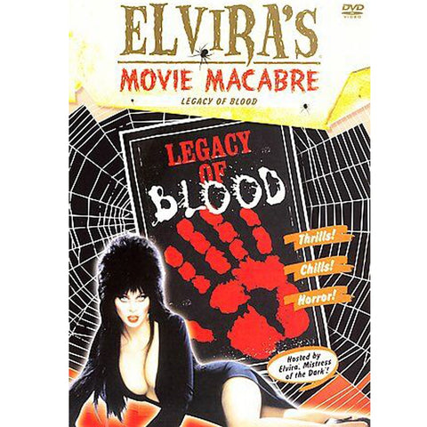 Elvira's Movie Macabre-Legacy of Blood DVD