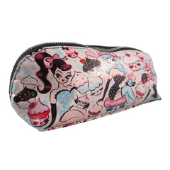 Fluff Cupcake Dolls Cosmetic Make-up Bag