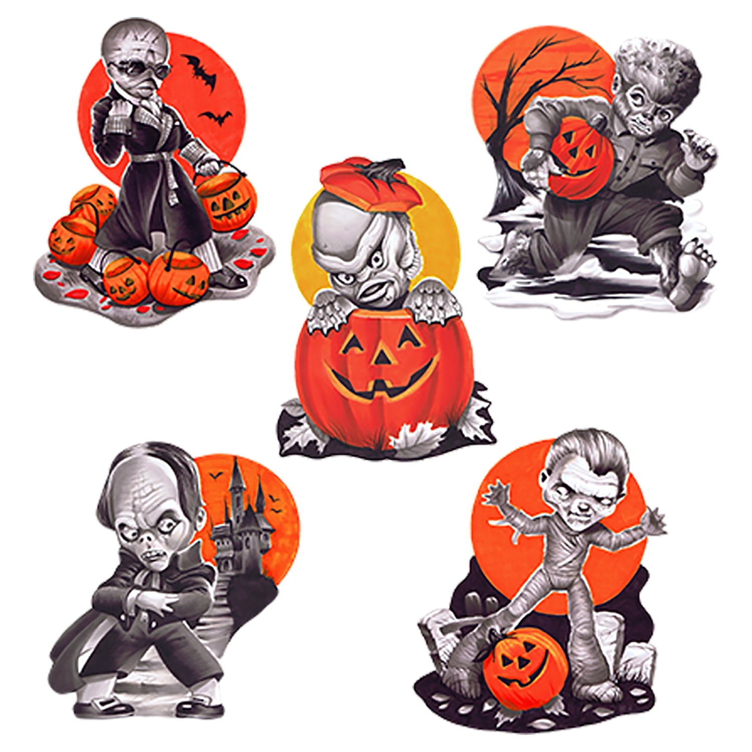 Trick Or Treat Universal Monster Wall Decor