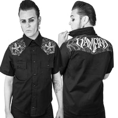 Vampira Cob-west Western Shirt