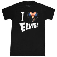 Elvira I Heart Mens Tshirt