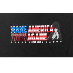 Elvira For President Make America Goth Again T-Shirt