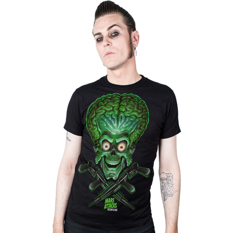 Mars Attacks Trooper X Guns T-shirt