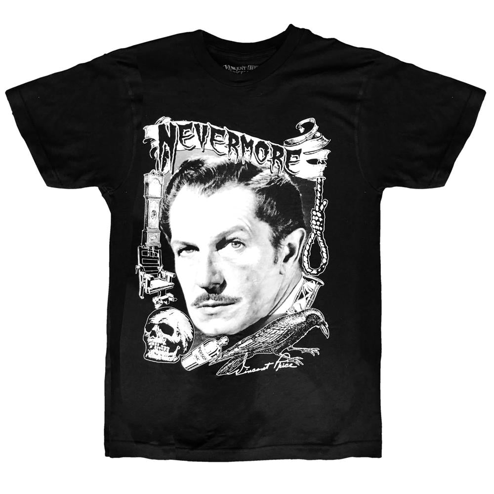 Vincent Price Nevermore Tshirt