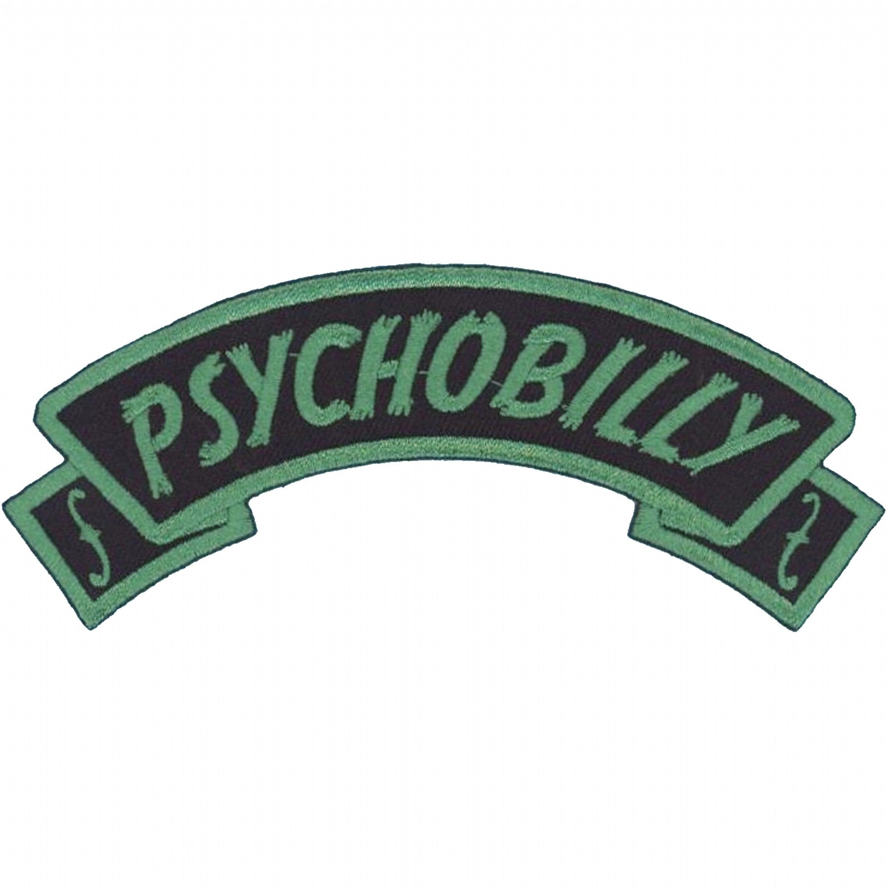 Arch Psychobilly Patch