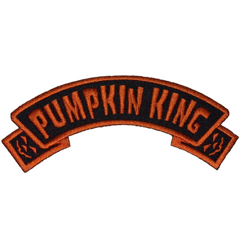 Pumpkin King Arch Patch