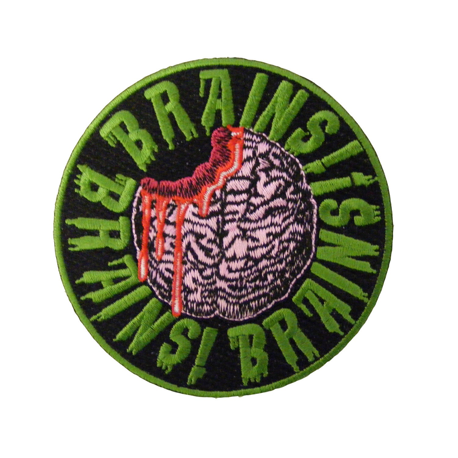 Brains Brains Brains Patch