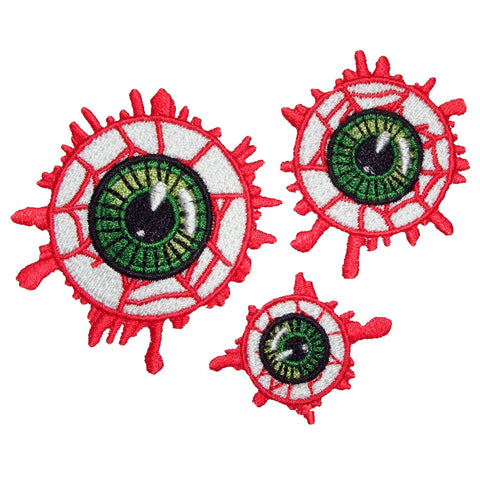 Eyeball 3 Piece Patch Set