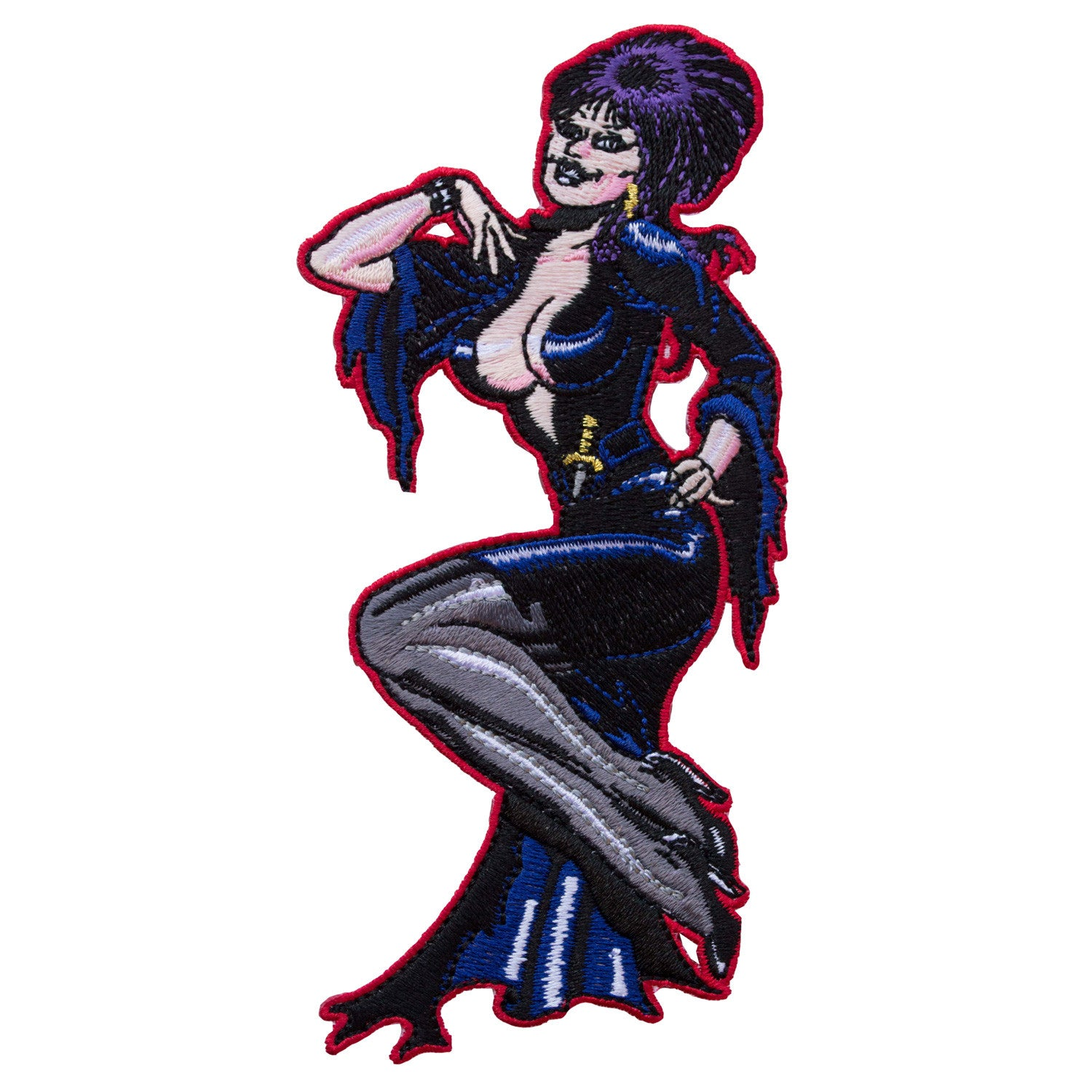 Elvira Comic art Patch