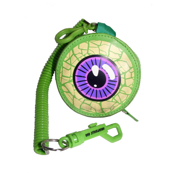 Eyeball Purse Green