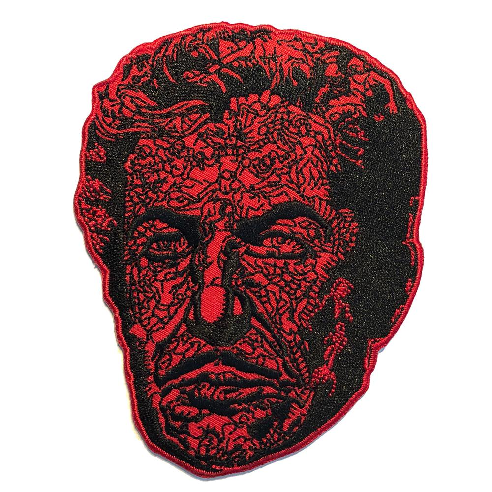 Vincent Price Red Death Face Patch