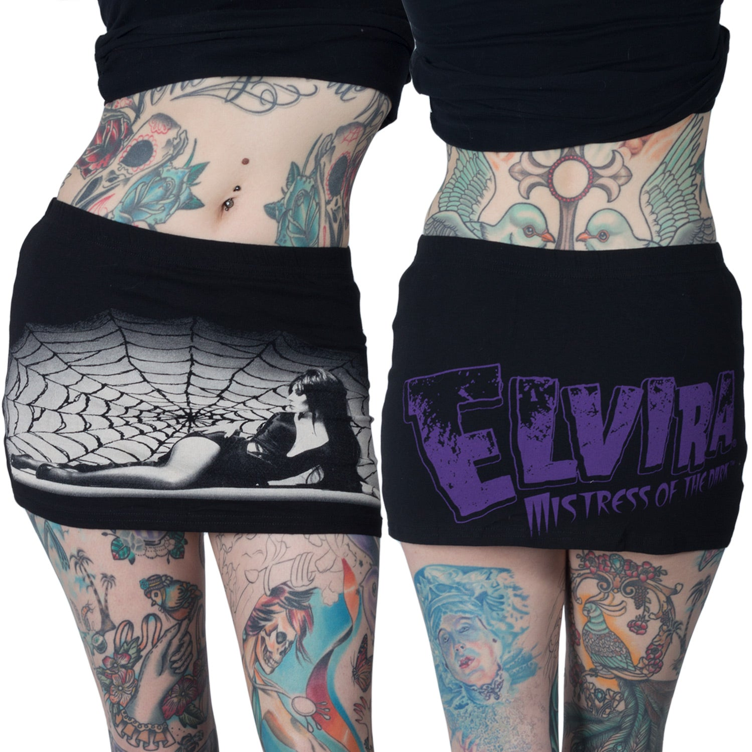 Elvira Web Mini Skirt