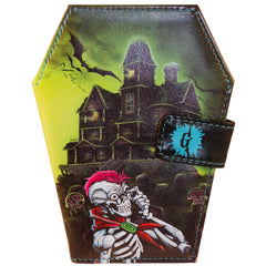Goosebumps Coffin Wallet Haunted house