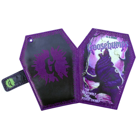Goosebumps Coffin Wallet Werewolf Swamp